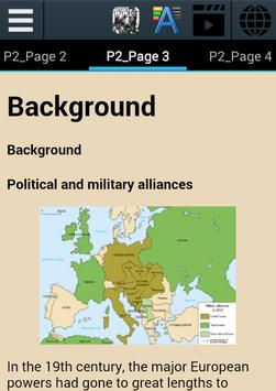 World War I History apk screenshot