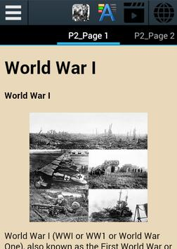 World War I History screenshot 1