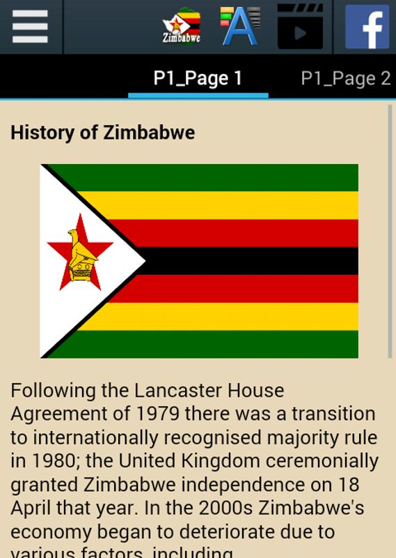 History Of Zimbabwe Apk Download Free Books Reference App For
