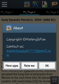 History of Ancient Egypt apk screenshot