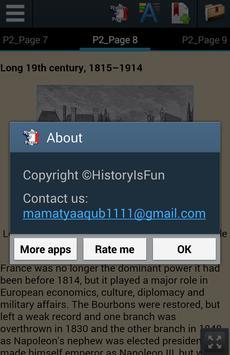 History of France apk screenshot