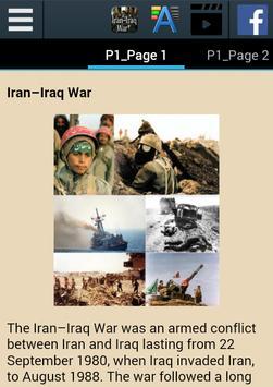 Iran–Iraq War History apk screenshot