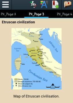 History of Italy apk screenshot