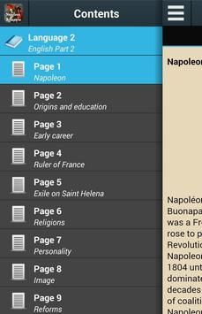 Biography of Napoleon poster