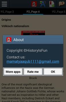 History of Nazism apk screenshot