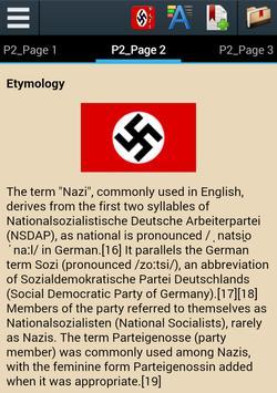 Nazi Party History apk screenshot