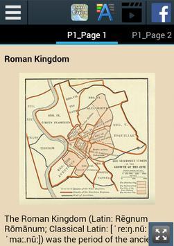 Roman Kingdom History apk screenshot