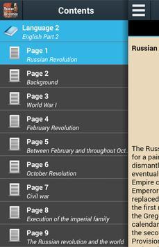 History of Russian Revolution poster
