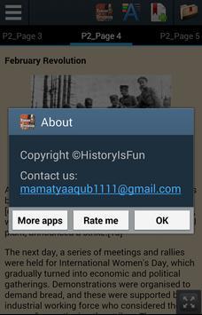 History of Russian Revolution apk screenshot