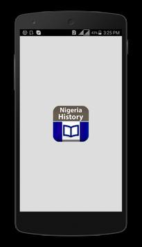 History of Nigeria poster
