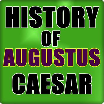 History of Augustus Caesar poster