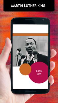 Martin Luther King Biography poster