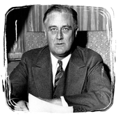 Franklin D Roosevelt Biography icon