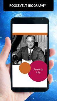 Franklin D Roosevelt Biography poster
