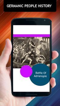 Germanic People History apk screenshot