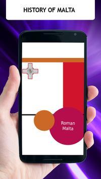 History Of Malta poster