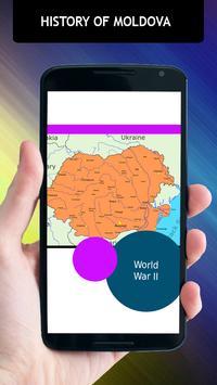 History Of Moldova apk screenshot