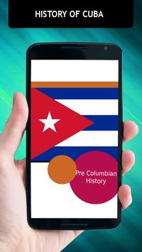 History Of Cuba poster