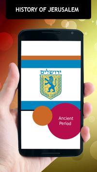 History Of Jerusalem poster