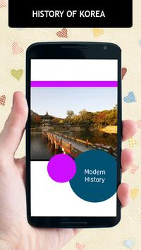 History Of Korea apk screenshot