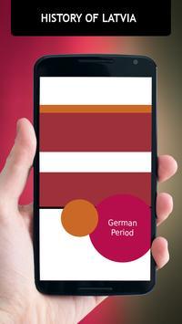 History Of Latvia poster