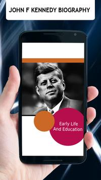 John F Kennedy Biography poster