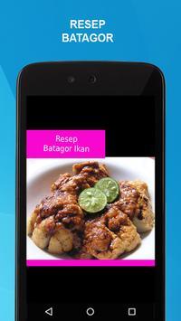 Resep Batagor apk screenshot