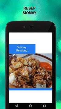 Resep Siomay apk screenshot