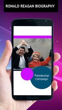 Ronald Reagan Biography apk screenshot