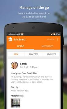 hipages for Business apk screenshot