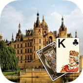Solitaire Old Castle Theme icon