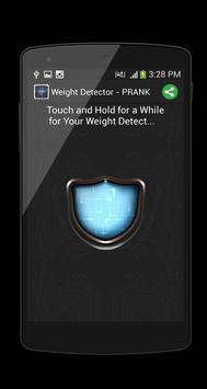 Weight Detector - PRANK poster