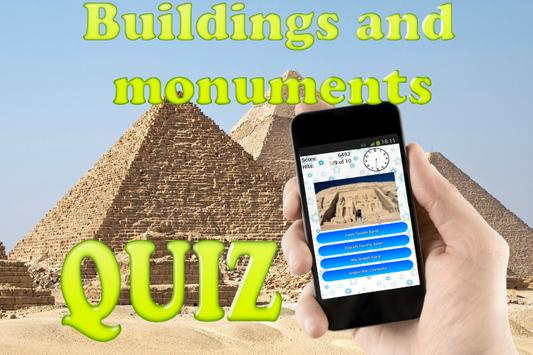 Buildings and Monuments Quiz poster