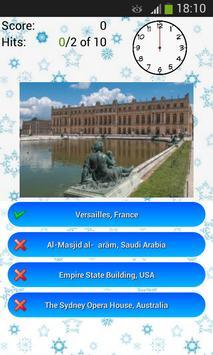 Buildings and Monuments Quiz apk screenshot