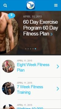 30 Day fitness poster