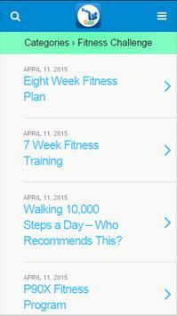 30 Day fitness apk screenshot