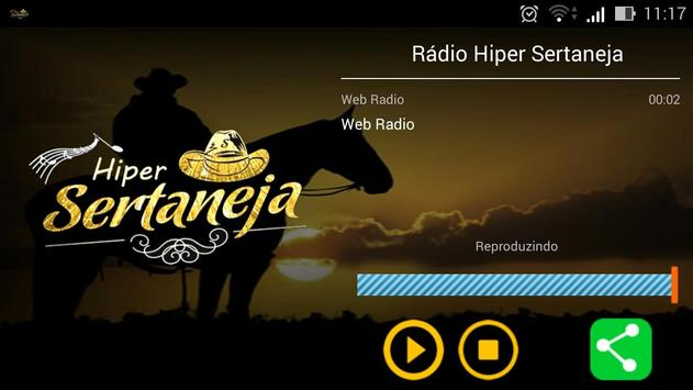 Rádio Hiper Sertaneja apk screenshot