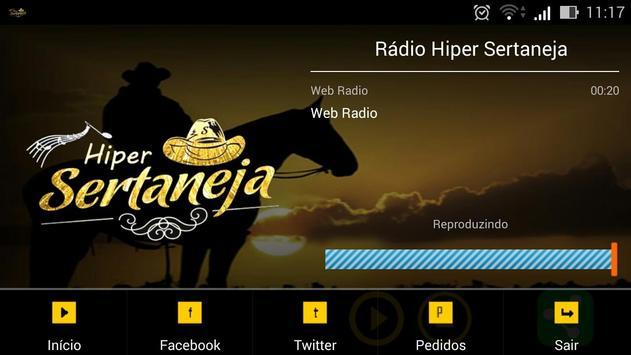Rádio Hiper Sertaneja screenshot 4