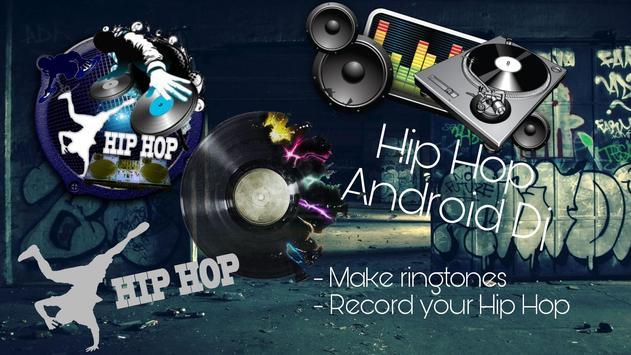 Hip Hop Dj Beat Maker Poster