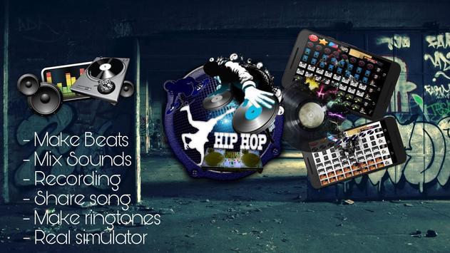 Hip Hop Dj Beat Maker captura de pantalla de la apk