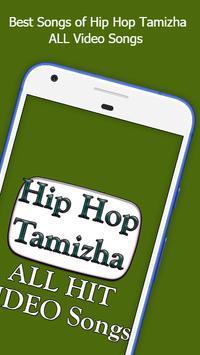 Hip Hop Tamizha ALL Songs Video App poster