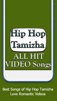 Hip Hop Tamizha ALL Songs Video App screenshot 2