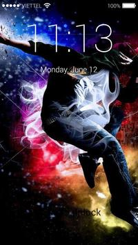 Hip Hop HD Lock Screen poster