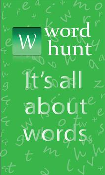 Word Hunt poster