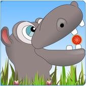 Hippo Pig Glutton icon
