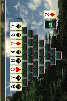 Wild Tripeaks Lite screenshot 2