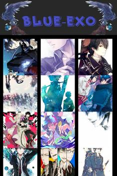 BLUE ANIME EXORCIST WALLPAPERS poster