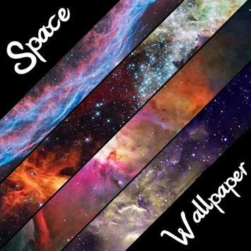 HD GALAXY SPACE WALLPAPER poster