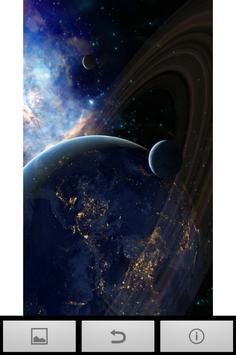 HD GALAXY SPACE WALLPAPER apk screenshot