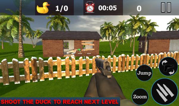 Duck Shoot Hunting Bird Wild Sniper 3D 2018 screenshot 1